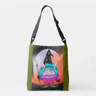CANDY PET 1 HALLOWEEN MONSTER CUTE TOTE BAG