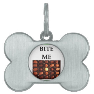 candy pet ID tag