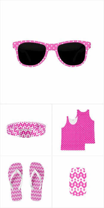 Candy Pink Fashion Accessories