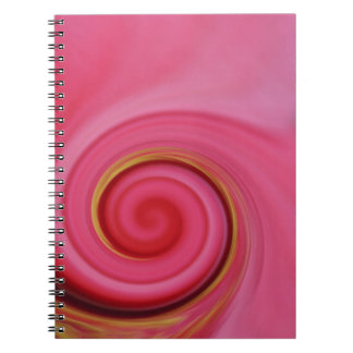 candy pink notebook