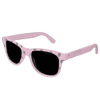 Candy Pink Polka Dot Sunglasses