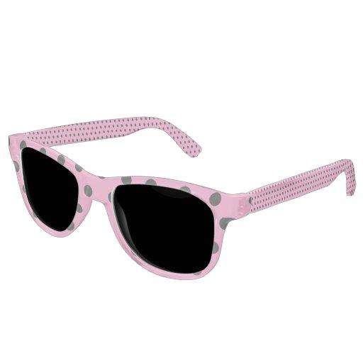 Zenni Optical Polka Dot Glasses : Candy Pink Polka Dot Sunglasses Zazzle