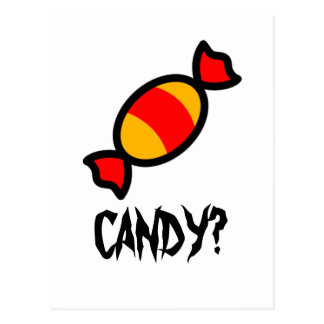Candy Postcard
