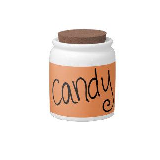 Candy (pumpkin) candy jar
