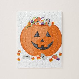 Candy Pumpkin Puzzle