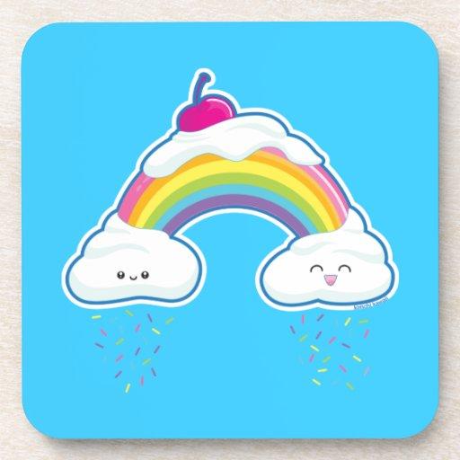 Candy Rainbow Coasters