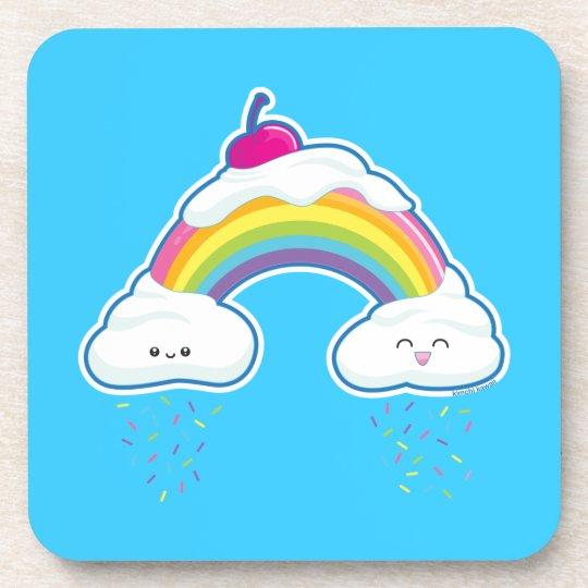 Candy Rainbow Drink Coaster
