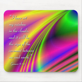 """""""Candy Rainbow"""" Inspirational Mouspad Mouse Pad"""
