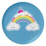 Candy Rainbow Plates