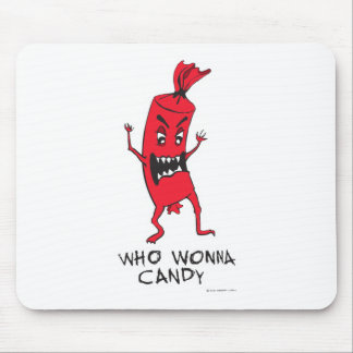 CANDY RED MOUSE PAD