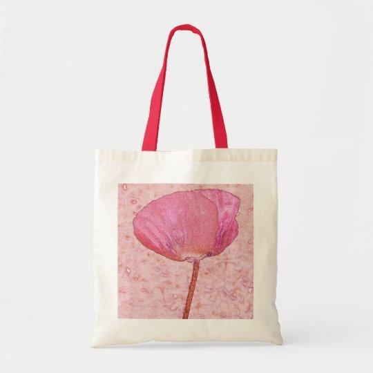Candy red poppy ... bag