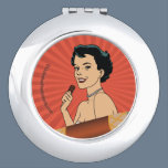 Candy Roll Girl Compact Mirror