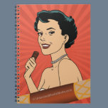 Candy Roll Girl Notebook