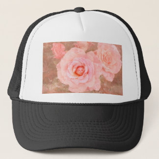 Candy roses trucker hat