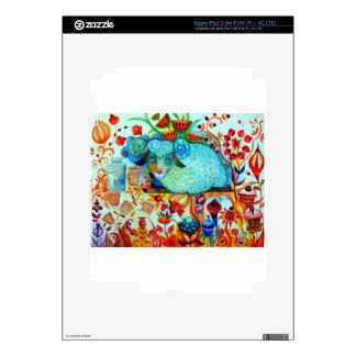 Candy sheep iPad 3 decals