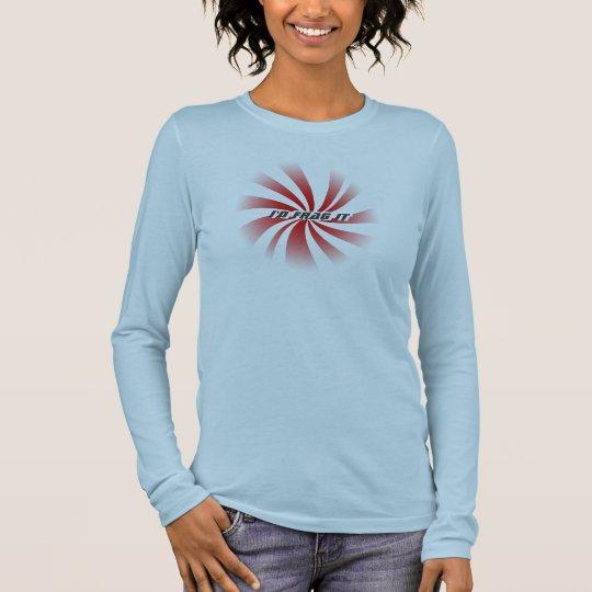 Candy  -Shirt - I'd Frag It Long Sleeve T-Shirt