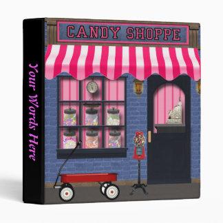 Candy Shop Binder