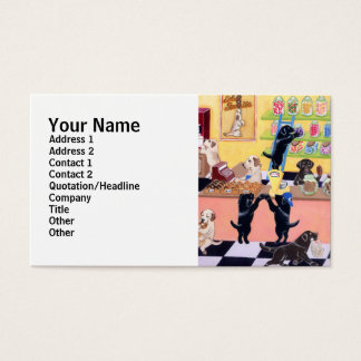 Candy Shop Labradors Business Card