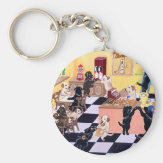 Candy Shop Labradors Keychain