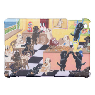 Candy Shop Labradors Painting iPad Mini Covers