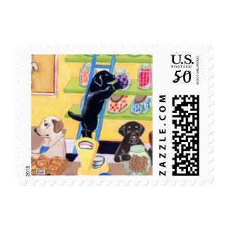 Candy Shop Labradors Postage