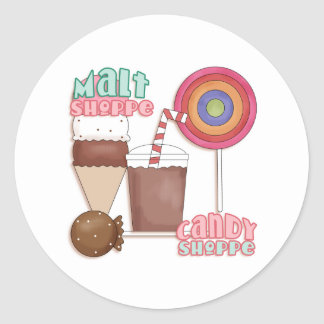 Candy Shop Stickers