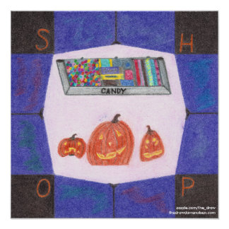 Candy Shop Stop Poster