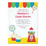 "Candy Shoppe Invitation 5"" X 7"" Invitation Card"