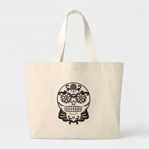 Candy Skull B&W Bags