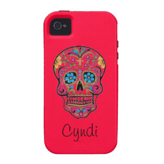 Candy Skull Vibe iPhone 4 Cases