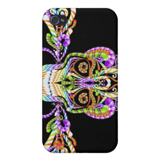 candy skull iphone 4 case