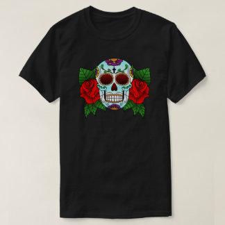 Candy Skull T-Shirt Black