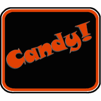 Candy Snappy Halloween Text Image Photo Cutouts