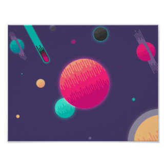 Candy Space Poster