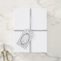 Candy Sprinkle pattern gift tag