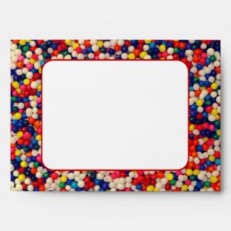 Candy Sprinkles Envelopes