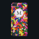 "Candy Sprinkles iPod Touch 5G Case<br><div class=""desc"">Colorful,  multi colored candy sprinkles,  many items available with a bubble label to customise with your own text.</div>"