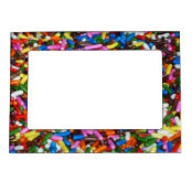 Candy Sprinkles Magnetic Photo Frame