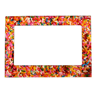 Candy Sprinkles Magnetic Picture Frame