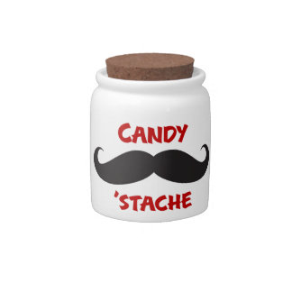 Candy Stache Candy Dish