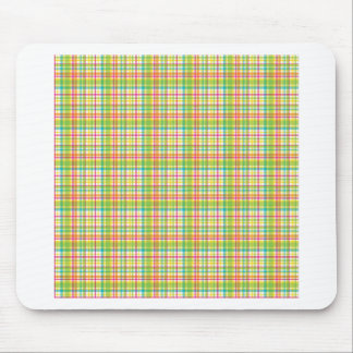 Candy Store Plaids Mouse Pad