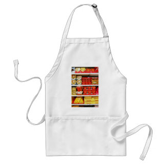 Candy Store Shelves Adult Apron