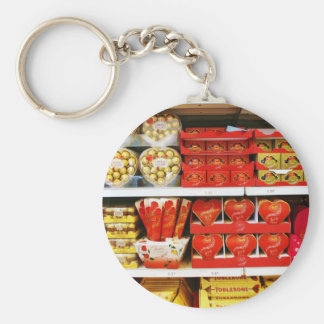 Candy Store Shelves Keychain