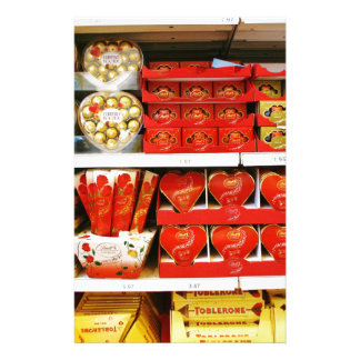 Candy Store Shelves Stationery
