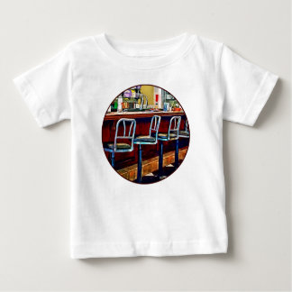 Candy Store With Soda Fountain Baby T-Shirt