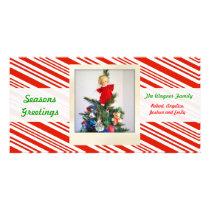 Candy Stripe Card