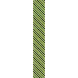 Candy Stripe Green- - Customized Neckties