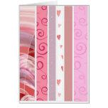 Candy Stripe Greeting Card