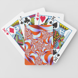 Candy Stripe Roots Playing Cards