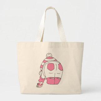 Candy Stripe Seaglass Multi Large Tote Bag